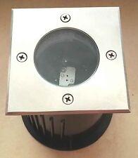 DASAR 115 Außen-Bodenlampe Bodenleuchte Bodenstrahler Edelstahl316, Eckig299344