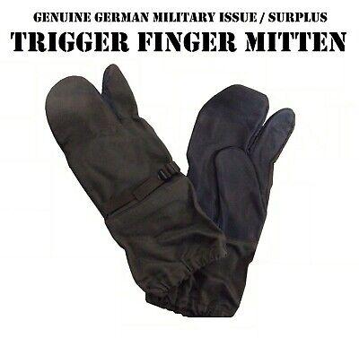 German Bundeswehr Trigger Mittens New