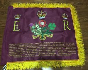 The Blues and Royals Union Standard flag