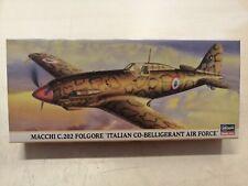 Macchi C.202 Folgore JT32 Maquette avion Hasegawa 1//48 Ref 9132