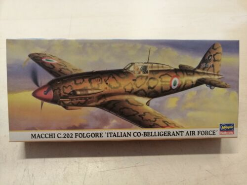 BELLIGERANT-model Kit 1:72-Hasegawa-Art.00662 202 FOLGORE ITALIAN CO MACCHI C