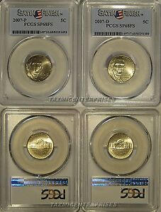 2007-P/& D Jefferson Nickels SET OF 2 COINS