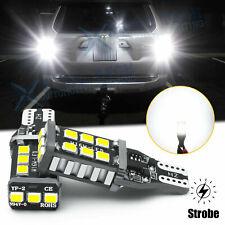 921 912 Led Strobe Flash Backup Reverse Light Bulbs For Toyota 4runner 2001 2020