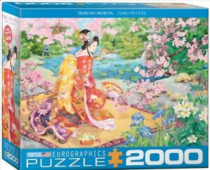 New! Eurographics jigsaw puzzle 2000 pc Haru No Uta by Haruyo Morita