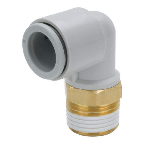 SMC KQ2L04-01AS Male Elbow,90 Deg,4mm,TubexMale BSPT