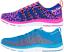 Damen Turnschuhe Fitness Sneaker Sportschuhe blau pink Laufschuhe Schuhe leicht