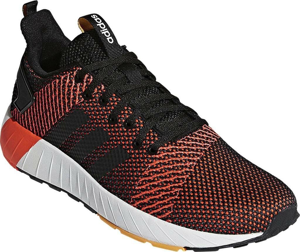 Adidas Questar Byd Sneaker (Men's) - Core Black FTWR White Solar Red - NEW -  80