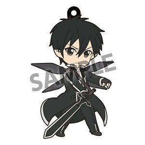 Details about sword art online kirito world seed pikuriru rubber phone