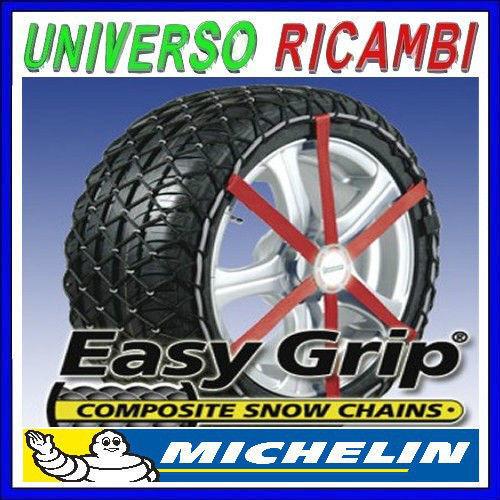CATENE DA NEVE MICHELIN EASY GRIP H12 FACILI DA MONTARE x PNEUMATICI 185//60 R15