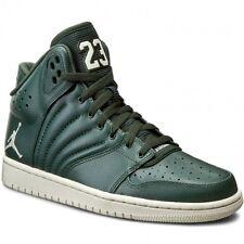 Nike Jordan 1 Flight 4 Sneakers Mid In Pelle Misura UK 10 (EU 45) Green Grove