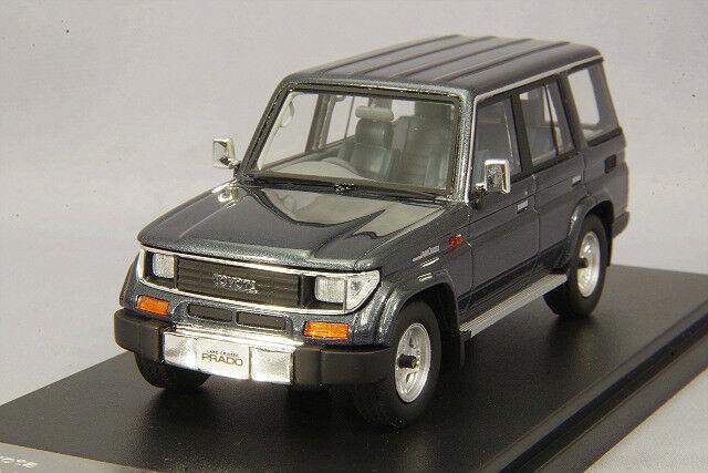 1/43 Hi-Story Toyota LAND CRUISER 70 PRADO SX Wide 1993 Gris Metallic HS163GY