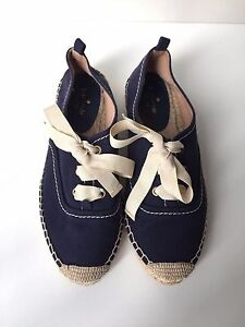 KATE-SPADE-NAVY-LACE-UP-ESPADRILLES-8-FIT-LIKE-6-5-225