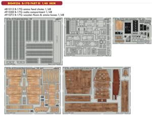 Eduard 1//48 Boeing B-17G Flying Fortress partie III big-Ed Set # 49256