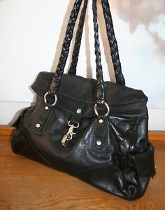 5bf97be5ab3c3a Das Bild wird geladen FRANCESCO-BIASIA-Tasche-grosse-Handtasche-Shopper- Leder-schwarz-