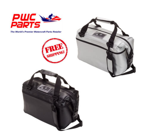 AO COOLER CARBON Series 12/24/36/48 Pack Black Silver Boating PWC ATV SXS AOCR