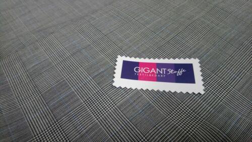 1A Ware Schurwolle aus Italien England Wollstoff Anzug Edel Meterware RESTPOSTEN