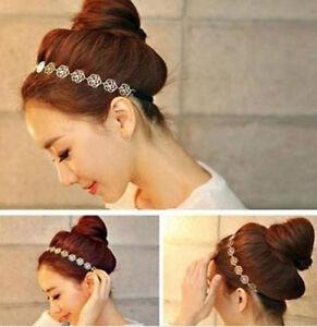 New-Fashion-Women-Accessories-Hollow-Rose-Flower-Elastic-Hair-Band-Headband