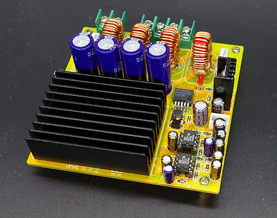 TAS5630 2x300W Class D digital HIFI high quality power amplifier w/ AD827 PREAMP