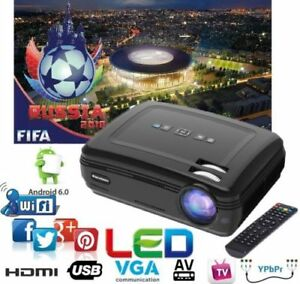 8GB-3D-PROYECTOR-6000lumens-TV-AV-VGA-2-USB-2-HDMI-Y-Pb-Pr-WIFI-ANDROID-Remote