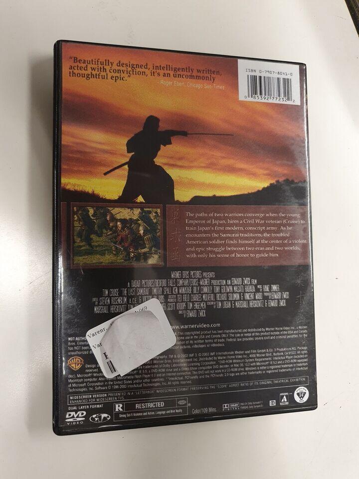 The last samurai, DVD, drama