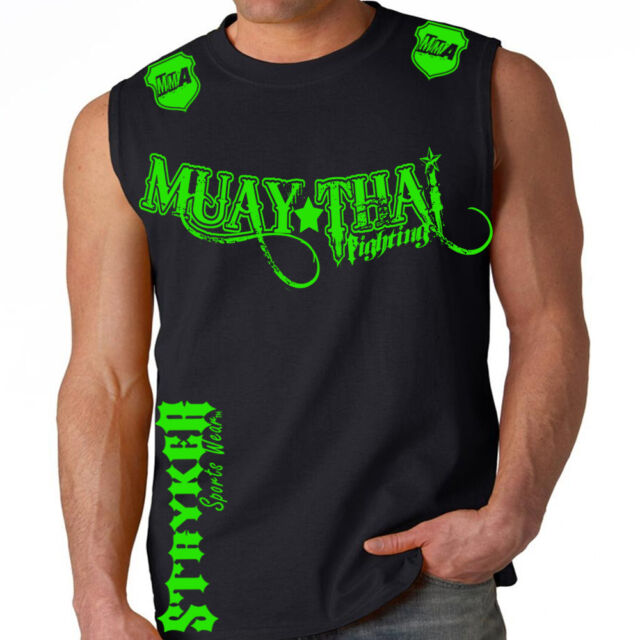 Ufc Tapout 2: Muay Thai Fighting Muscle Stryker Sleeveless Shirt Top UFC