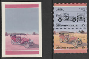 Bequia 3587 - 1985 CARS 1907 CHADWICK CROMALINCOLOUR PROOF