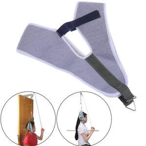 Cervical-Traction-Belt-Neck-Stretcher-Band-medizinische-Wirbel-Erholung-TR