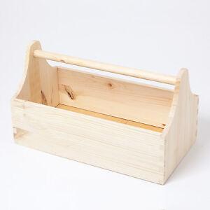 holzkiste hozfee unibox 1 holzkasten griff werkzeug spielzeug k che utensilien ebay. Black Bedroom Furniture Sets. Home Design Ideas