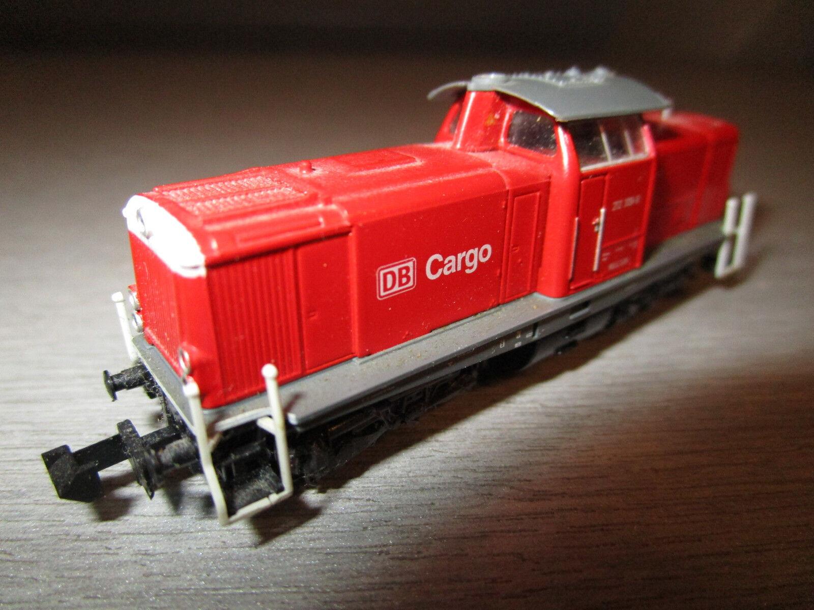 Trix Minitrix 12538 Locomotiva Diesel BR 212 309-9 Cargo Spur N
