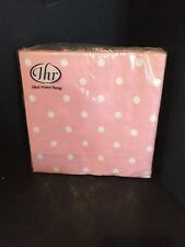 Ideal Home Range Cath Kidston Lunch Napkins Pink White Dots New