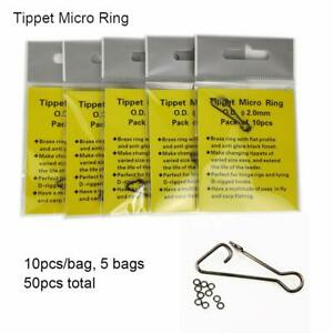 5XTippet Rings10Pack Fly Fishing Tippet Fly FishingTippet Micro Ring Tippet Ring