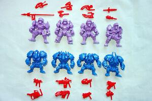 Nazi-Cyborgs-Necros-amp-Pancerons-8-Plastic-Battle-Beasts-Action-Figures-Russia