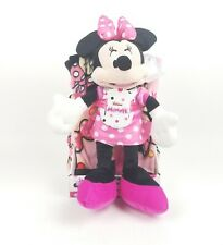 Mickey Mouse /& Friends Minnie Mouse 40x50 Throw Pillow /& Blanket 2pc
