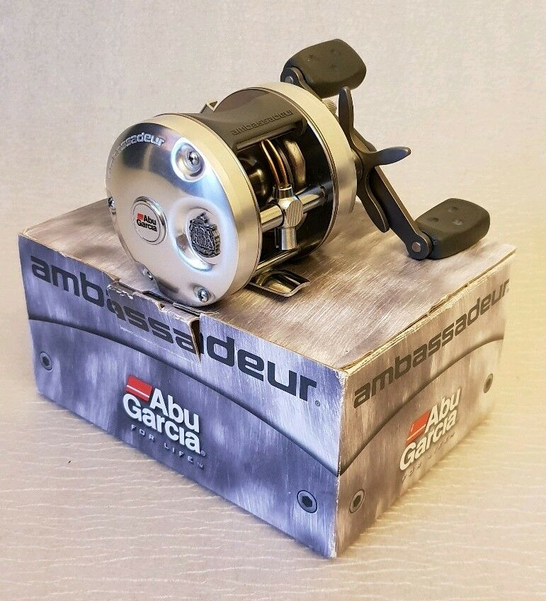 ABU Garcia Ambassadeur Ambassadeur Ambassadeur 5501 C3 multiplier  fishing reel-BNIB Made in Sweden. 146826