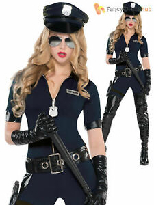 Adults-Sexy-Police-Officer-Costume-Ladies-WPC-Fancy-Dress-Outfit-Emergency-Cop