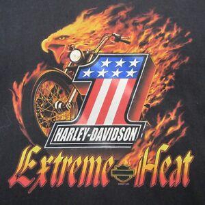 Harley Davidson Men's Shirt Size XL HD Motorcycle Bowling Green Extreme Heat