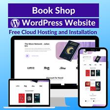 Book Shop Sale Business Website Store Free Cloud Hosting Installation