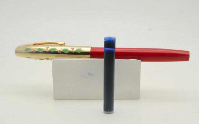 Rare Vintage Sheaffer Holly 1996 Fountain Pen - Serviced - Polished - NH04