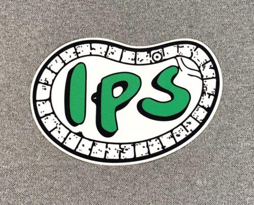 """IPS INOUYE POOL Skateboard Sticker 5/"""" Green"""
