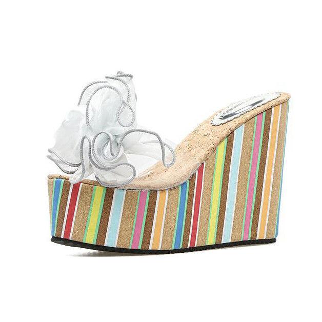 Sandalen komfortabel elegant holzschuhe keilabsätze 12 hausschuhe silber komfortabel Sandalen simil 59eec1