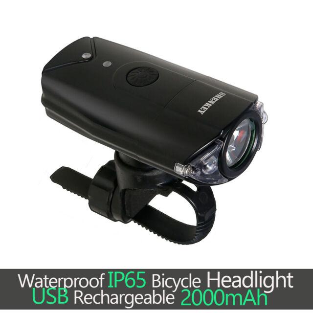 New 8000Lumen 2x XM-L2 LED Cycling Front Bicycle Bike light Headlight Headlamp