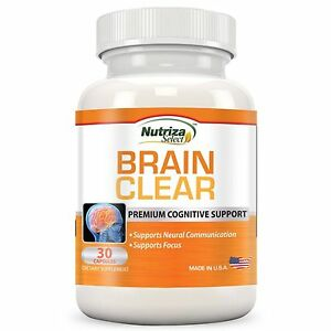 Nutriza Brain Clear Brain Support Supplement with Ginkgo Biloba - PETERLEE, United Kingdom - Nutriza Brain Clear Brain Support Supplement with Ginkgo Biloba - PETERLEE, United Kingdom