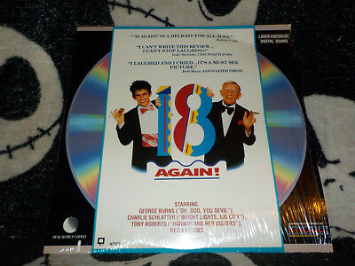 18 Again! Laserdisc Ld Versiegelt Shrink George Burns Gratis Versand $30 Orders