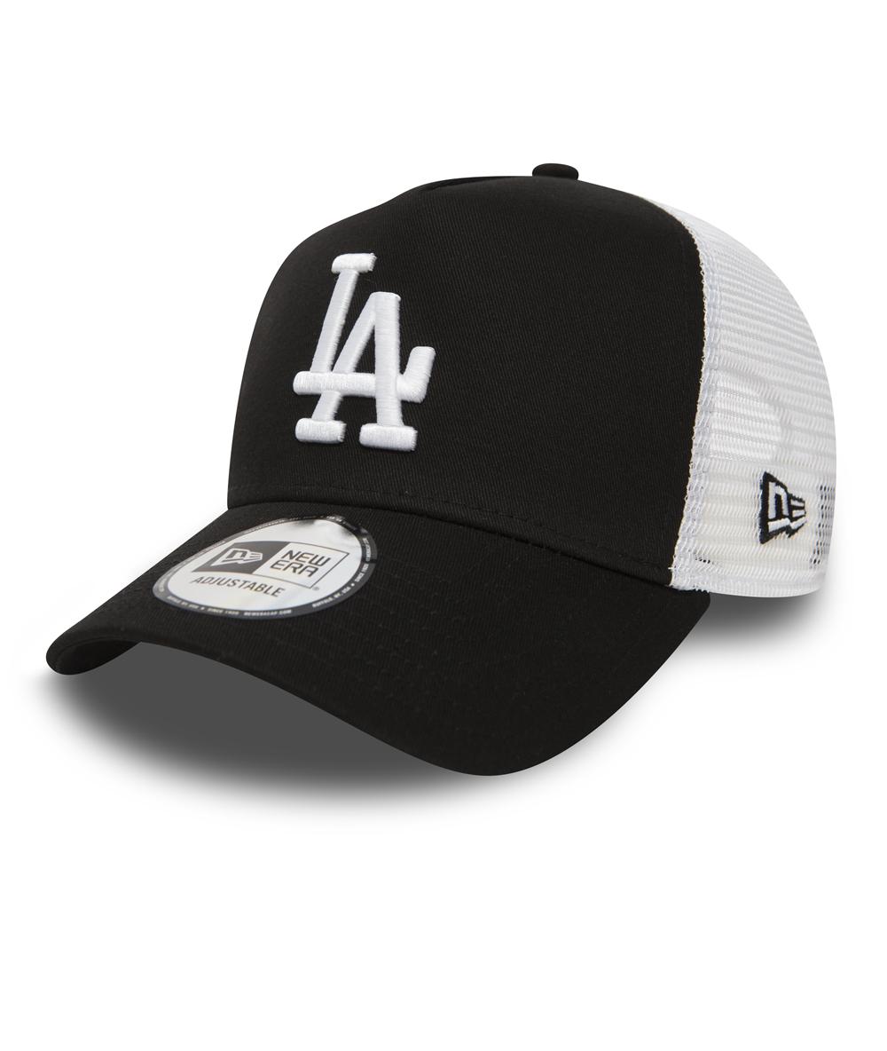 Beige Engineered Los Angeles Dodgers New Era New Era Adjustable A-frame Trucker Cap