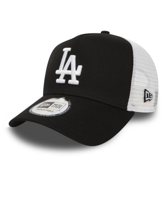 New Era Los Angeles Dodgers A Frame Adjustable Trucker Cap Trucker Bob