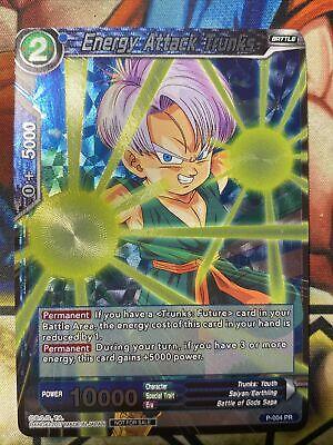 Pr Trunks attaque d/'énergie P-004 DRAGON BALL SUPER CARD GAME FR