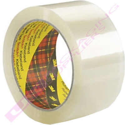 Clear Packing Packaging Tape Scotch 3M 19mm x 66m
