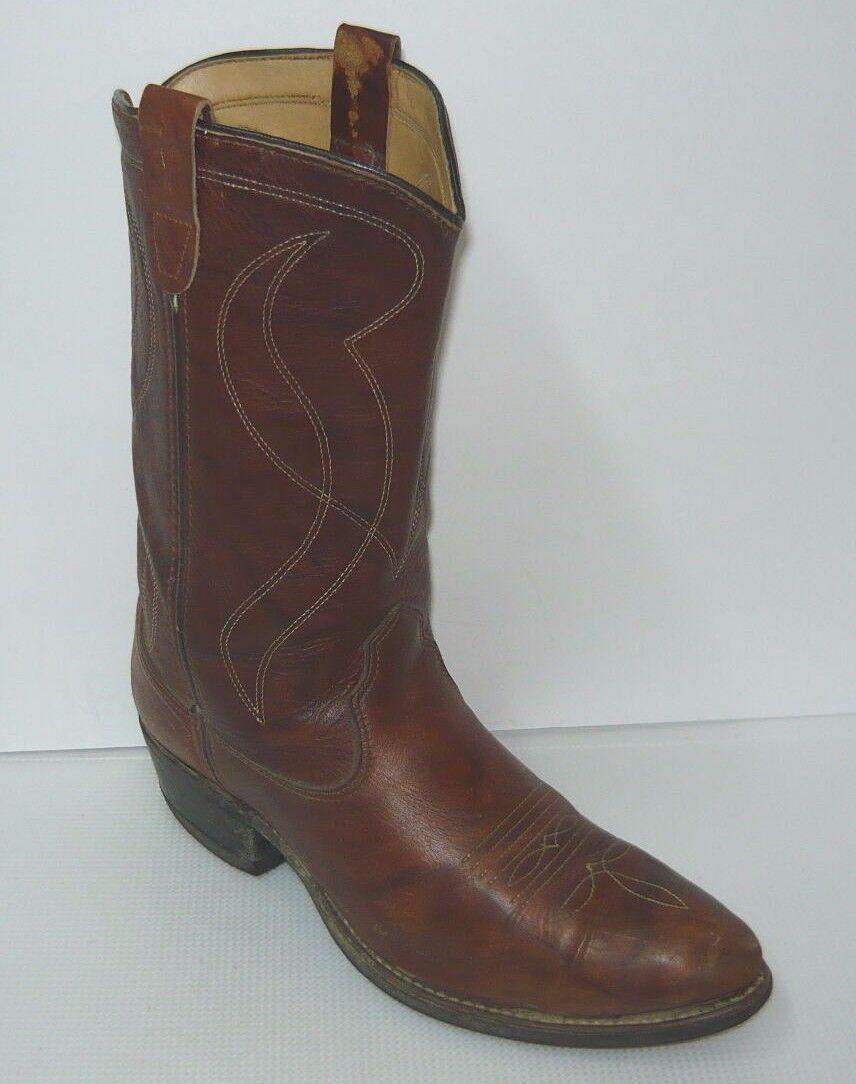 botas Vintage occidental Marrón De Hombre EE
