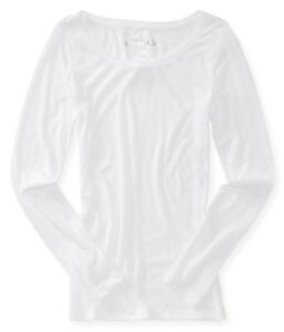 AEROPOSTALE-WOMENS-LONG-SLEEVE-BASIC-T-SHIRT-WIDE-NECK-CREW-THIN