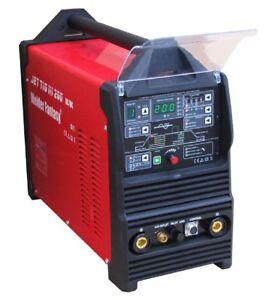 Inverter-Schweisser-JET-TIG-III-AC-DC-200-3w1-IGBT-PFC-PLASMA-WIG-MMA-HF-Pulse